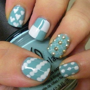 These are cute. But my nails were cuter.  Image via polyvore.com